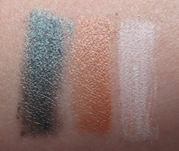 L'Oreal Green Promenade, Sunset Seine, and Paris Beach Swatch