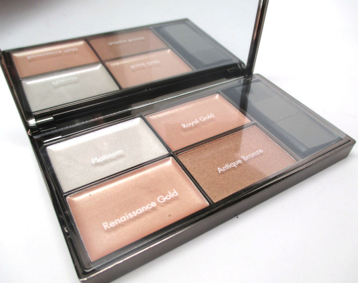 Sleek MakeUP Highlighting Palette, Precious Metals
