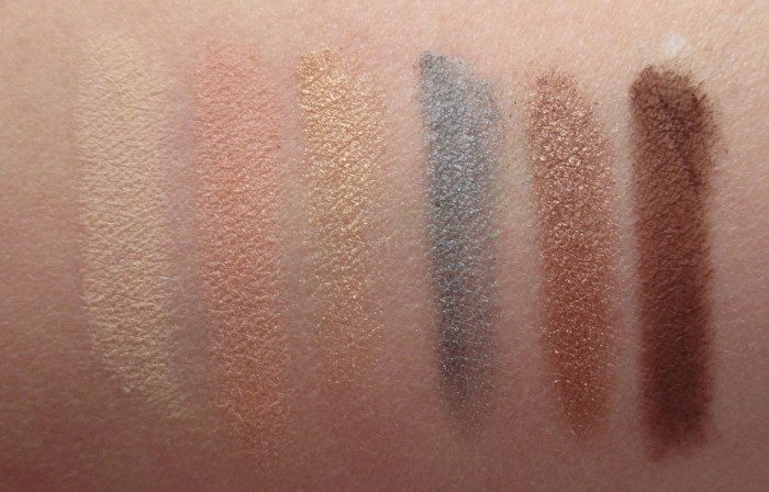 Estee Lauder Bronze Goddess Eyeshadow Palette Swatches