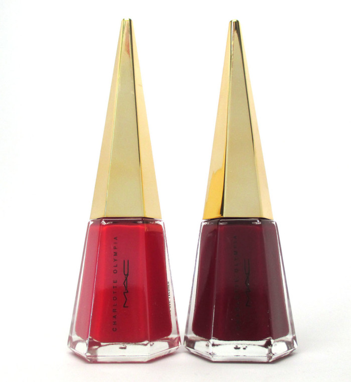 MAC Charlotte Olympia Collection Studio Nal Lacquers