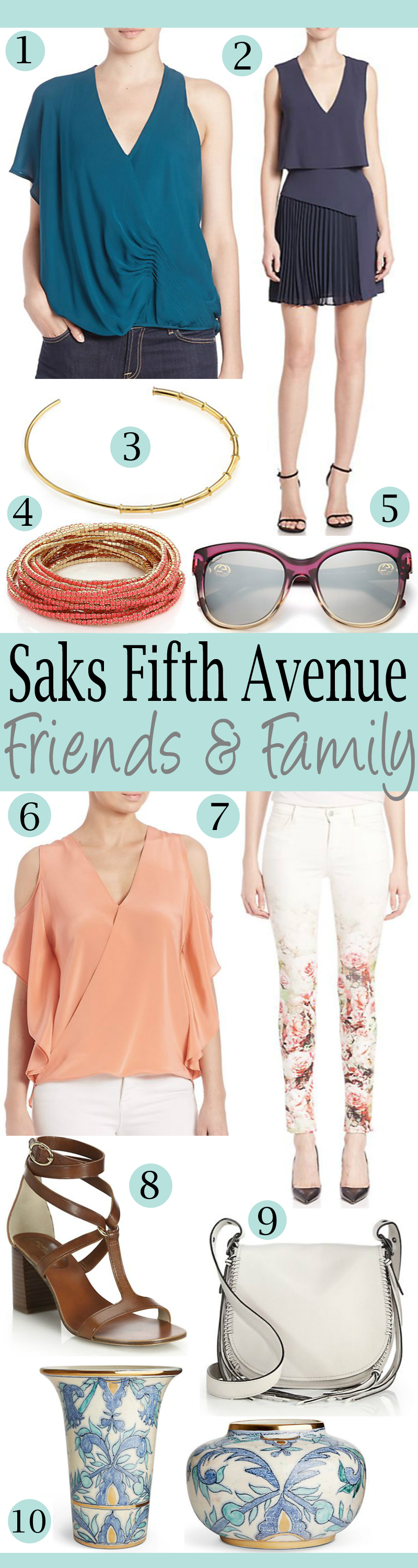 """What To Buy In The Saks Friends & Family """"Thank You"""" Sale!"""