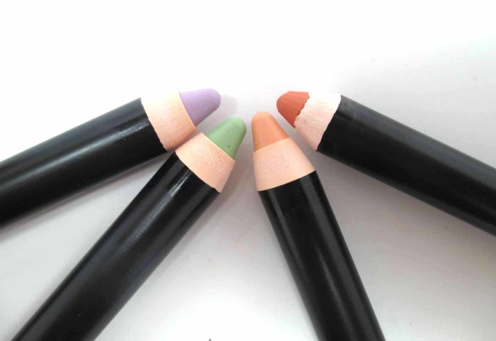 Smashbox Color Correcting Sticks, Opened