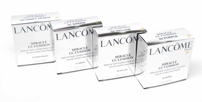 Lancôme Miracle CC Cushion