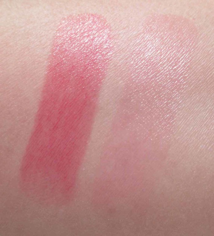 MAC Tendertalk Lip Balm Swatches