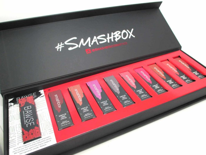 Smashbox Always On Liquid Lipstick Lineup