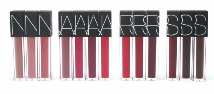 NARS Velvet Lip Glide Collection