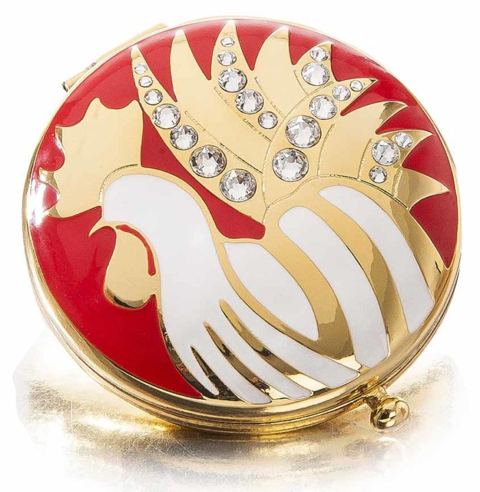 Estee Lauder Holiday 2016 Year Of The Rooster Compact