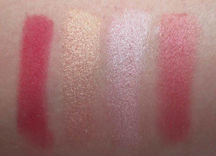 MAC Nutcracker Sweet Magic Dust Eyeshadow Swatches, Holiday 2016