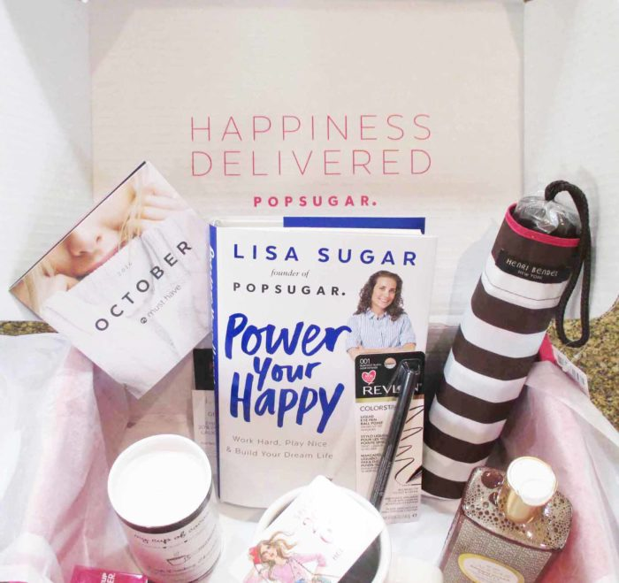 Pop Sugar Must Have October Box