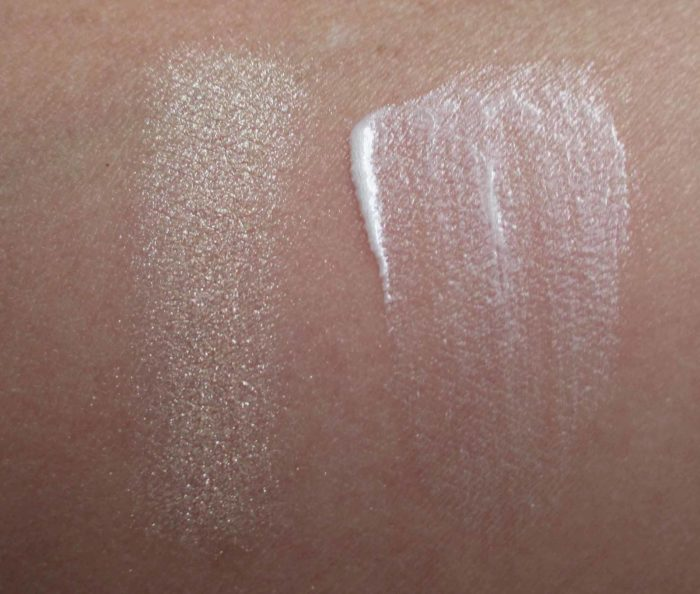 Doublegleam and Silverlight Swatches, MAC In The Spotlight