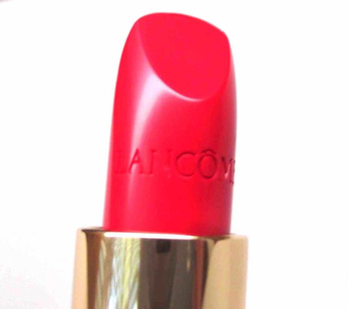 Lancome L'Absolu Rouge in Caprice