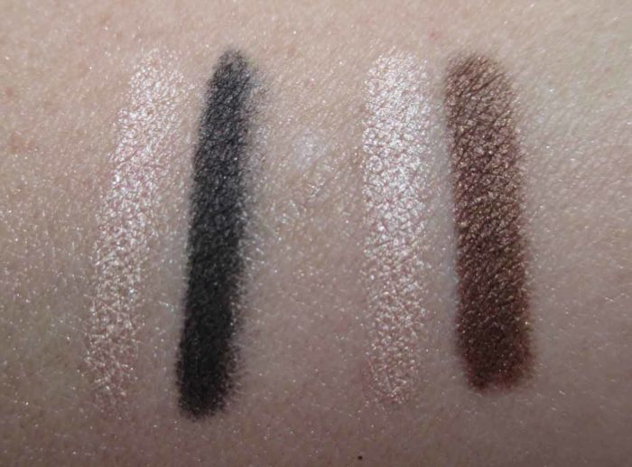 Lancôme Le Duo Khol Swatches, Holiday 2016