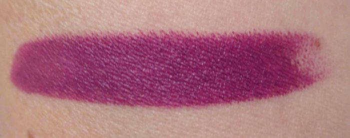 MAC Shadescents My Heroine Lipstick Swatch