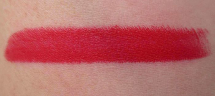 MAC Shadescents Ruby Woo Lipstick Swatch