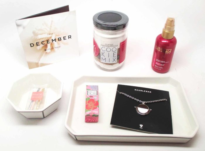 Popsugar Must Have Box December 2016