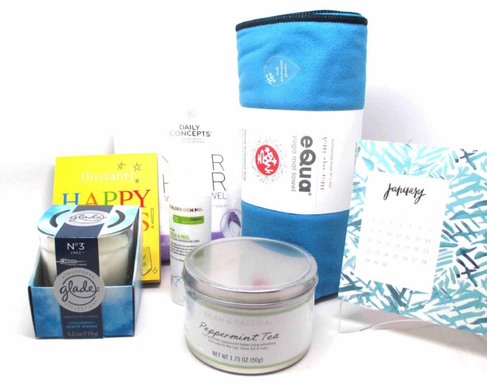 POPSUGAR MH Box January 2017 #ad