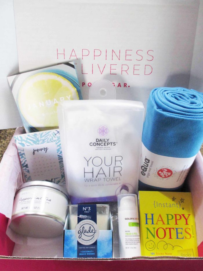 POPSUGAR Must Have Box January 2017 #ad