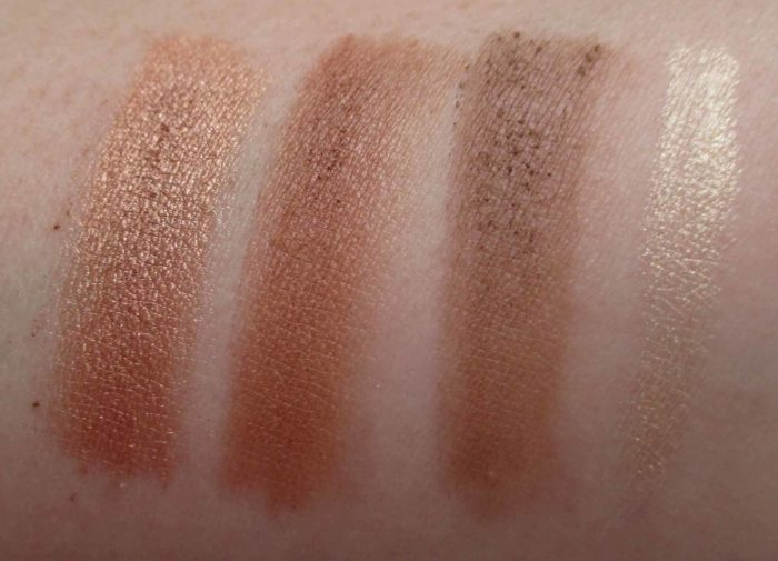 True To Form Swatches, butter LONDON BronzerClutch Palette