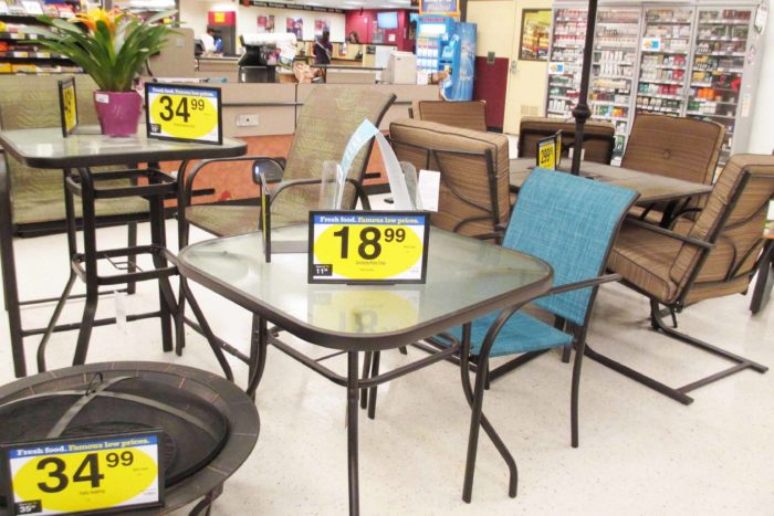 Kroeger Patio Sale: Bistro Table at Fry's