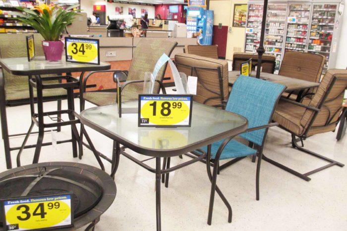 Awe Inspiring Kroger And Frys Patio Furniture Selection Inzonedesignstudio Interior Chair Design Inzonedesignstudiocom