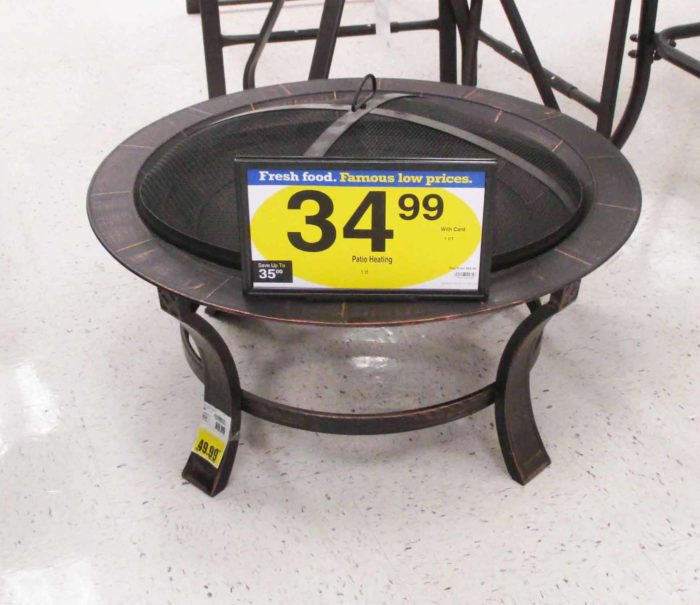 Kroeger Patio Sale: Firepit at Fry's