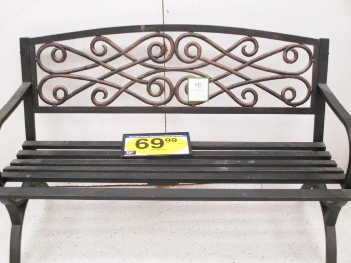 Kroeger Patio Sale: Outdoor Bench at Fry's