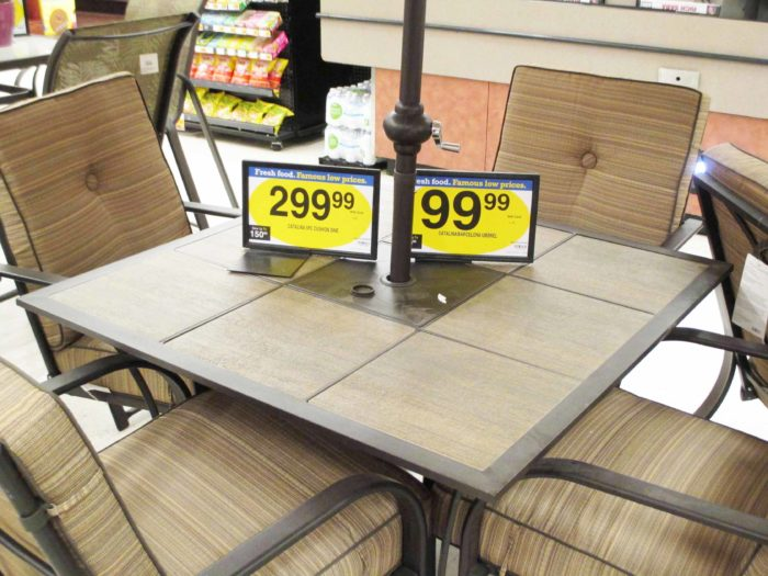 Kroeger Patio Large Outdoor Dining Table At Fry S