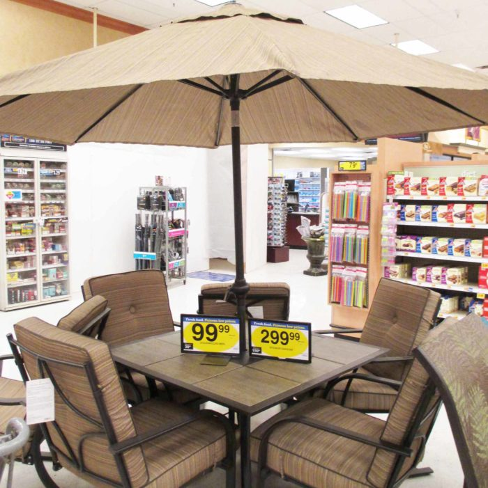 Kroeger Patio Sale: Large Outdoor Dining Table at Fry's