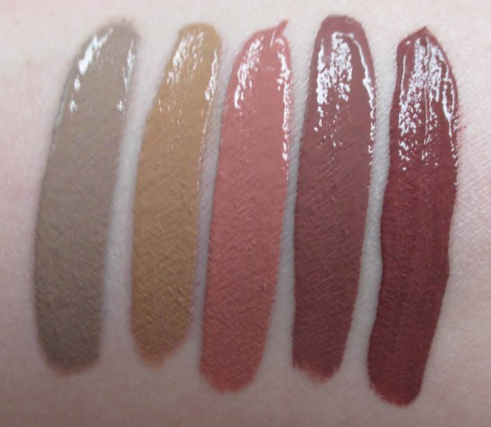MAC Retro Matte Liquid Lipcolour Swatches