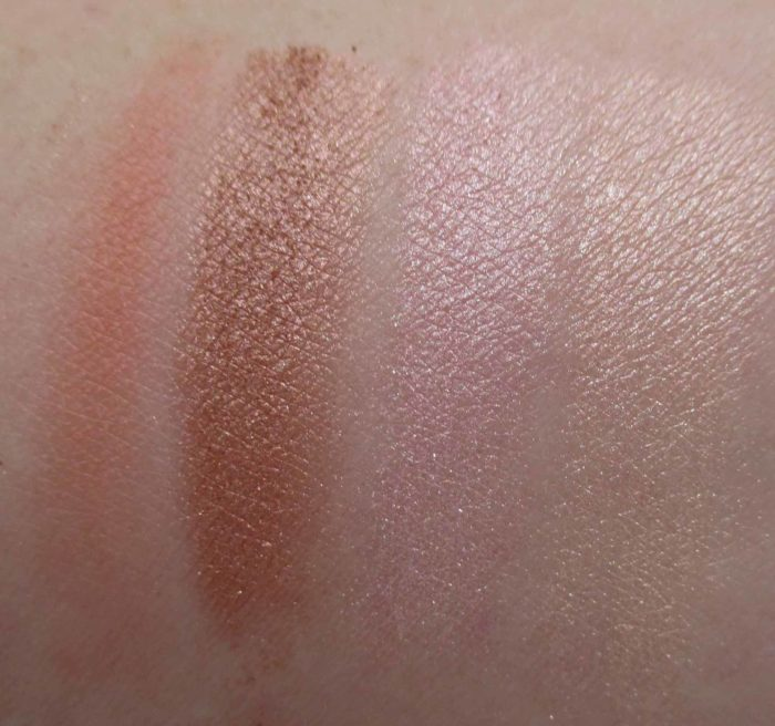 Jane Iredale Peaches & Cream Bronzer Swatches
