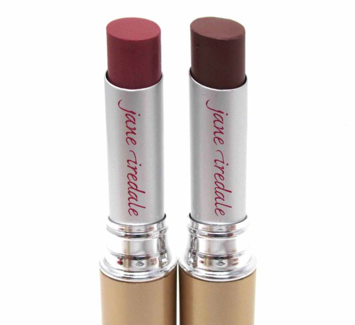 Jane Iredale PureMoist Lipsticks in Susan and Lisa