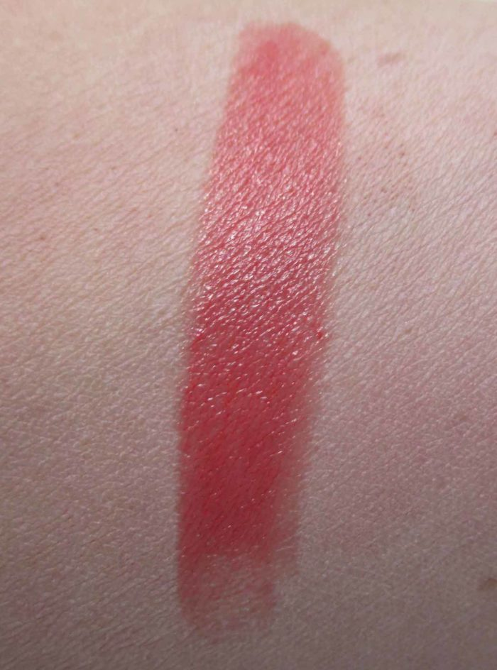 MAC Lustre Lipstick, Testosterone Swatch
