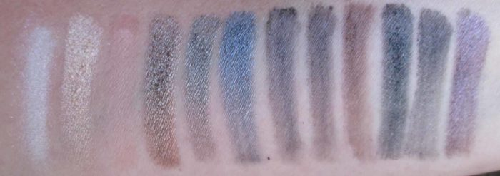 Rimmel London Grunge Glamour Swatches