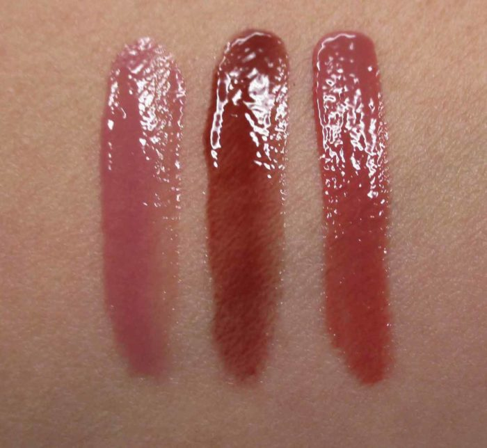 butter LONDON Sheer Wisdom Lush Lip Oil Swatches