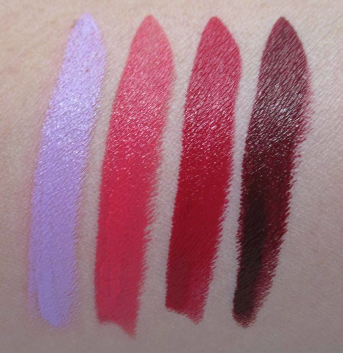 Make Up For Ever Artist Rouge Crème Lipsticks, Bold Shade Swatches