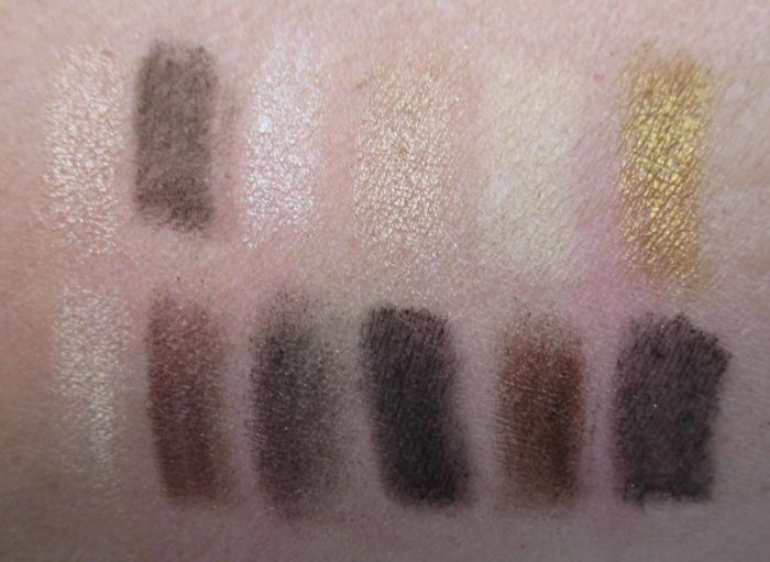 Maybelline The 24k Nudes Palette Swatches