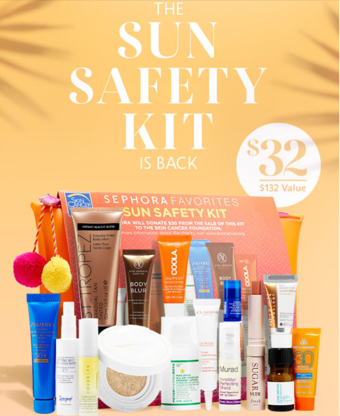 Sephora Sun Safety Kit 2017