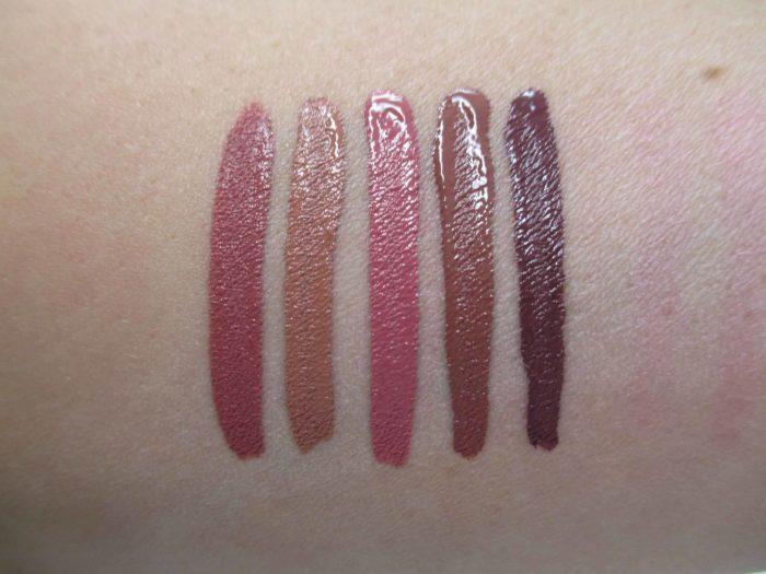 NARS Powermatte Lip Pigment Neutral Swatches