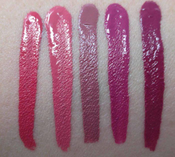 NARS Powermatte Lip Pigment Pink Swatches