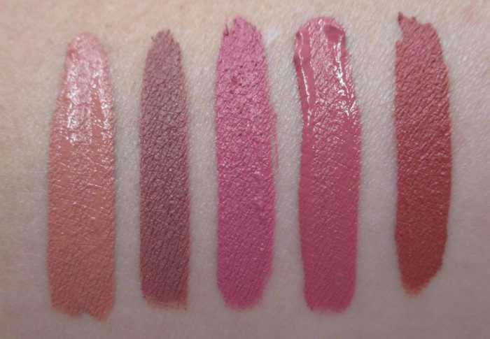 Smashbox Always On Liquid Lipstick Neutrals