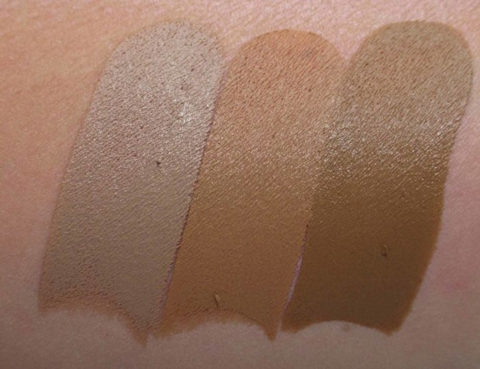 Smashbox Studio Skin Shaping Contouring Swatches