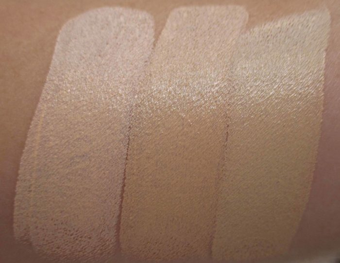 Smashbox Studio Skin Shaping Foundation Swatches