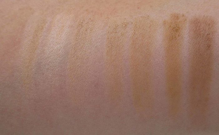 IT Cosmetics Your Skin But Better CC+ Airbrush Perfecting Powder Swatches