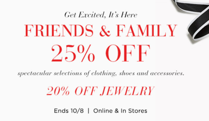 Saks Friends and Family Sale 2017, Saks Friends and Family Sale October 2017