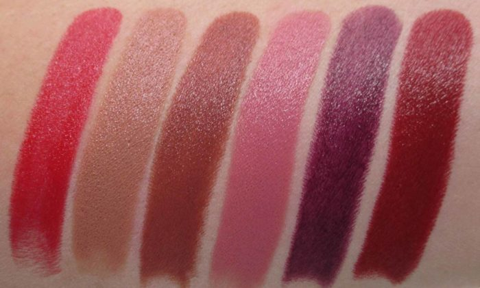 MAC Liptensity Lipsticks, review and swatches