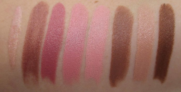 MAC x Nicki Minaj Swatches