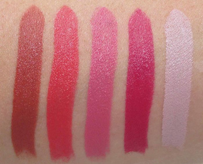 Smashbox Be Legendary Matte Lipstick Swatches