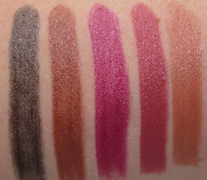 Smashbox Be Legendary Lipstick Swatches