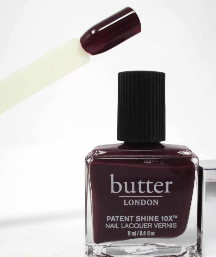 butter LONDON Patent Shine 10x Nail Lacquer, Afters Swatch