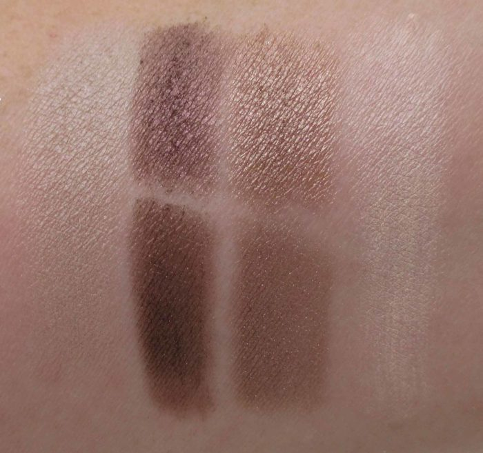 Cargo Cosmetics Limited Edition Enjoy Your Journey Eye Shadow Swatches, Gorgeous To Go Collection 2017